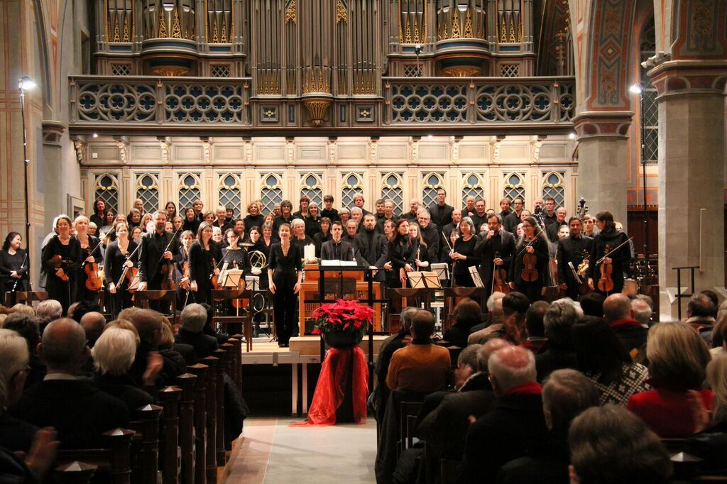 Bachchor Konzert Mozart C-Moll Messe Dez 2015